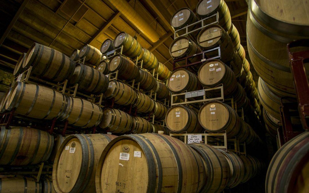 Los tipos de barricas usados para elaborar vino